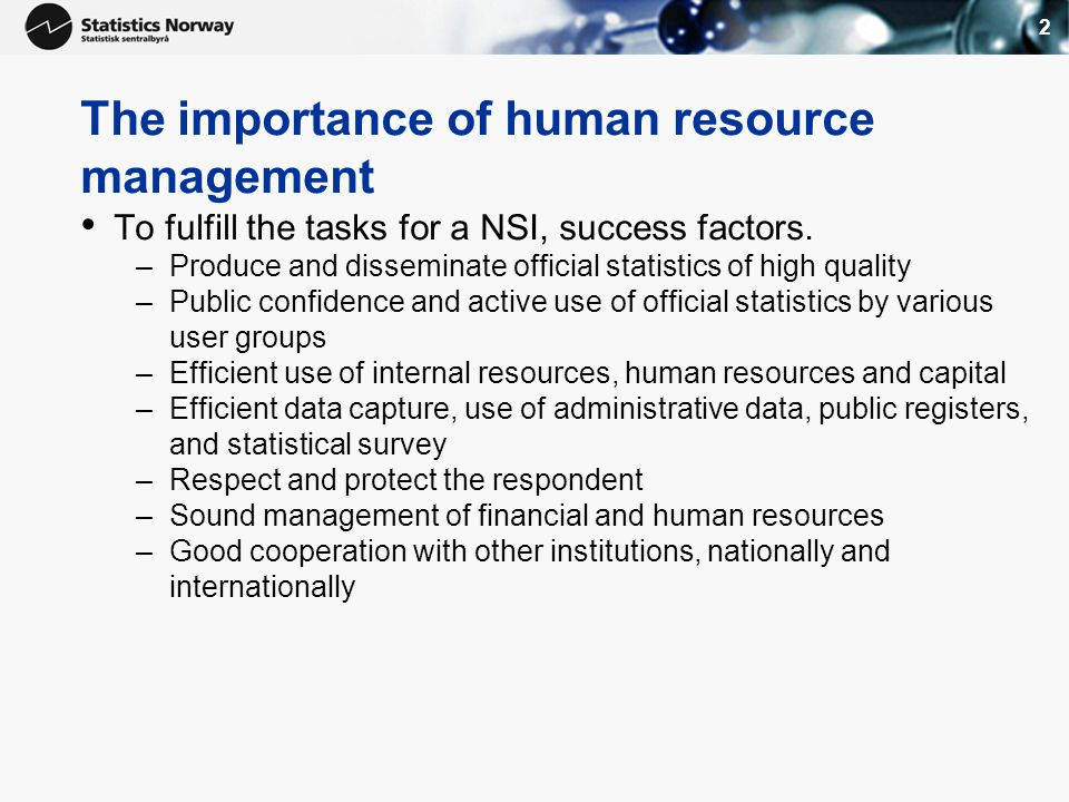 1 Human Resources Management In Nsos Training Workshop For Sadc