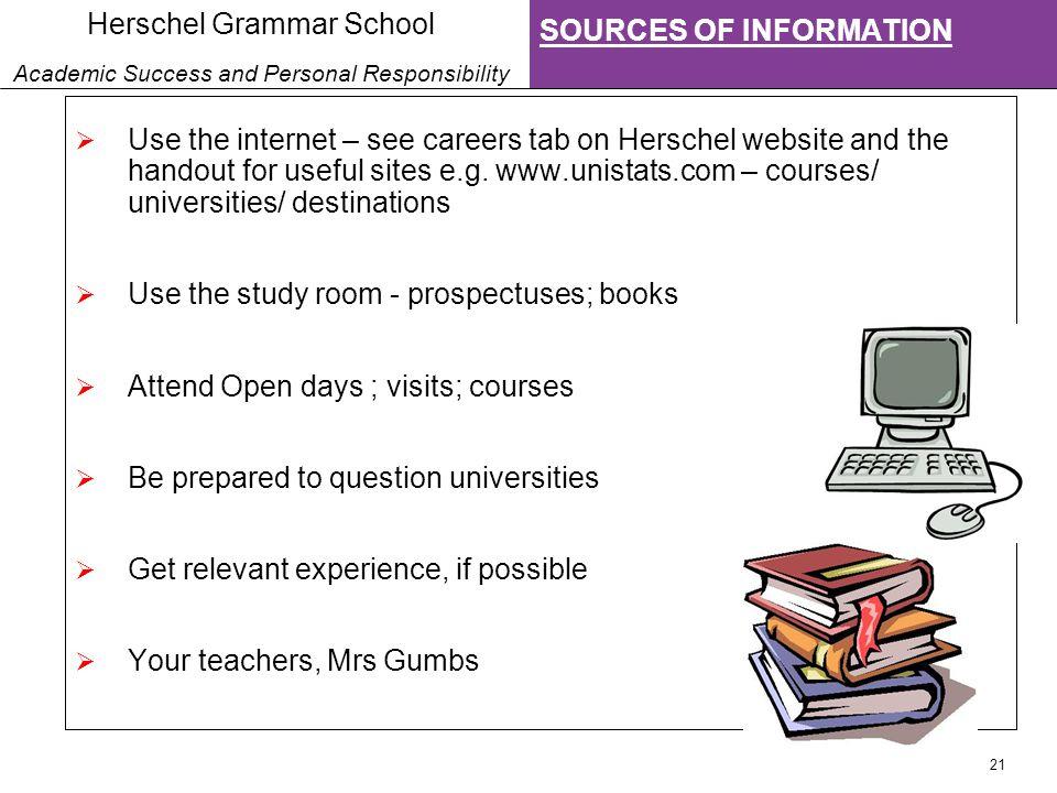 1 Herschel Grammar School Academic Success And Personal
