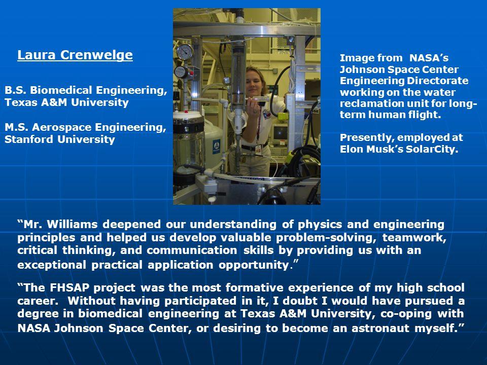 Garet Itz, B S  Aerospace Engineering, University of Texas at Austin