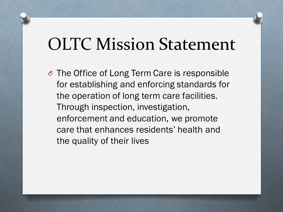 the importance of long term quality health care Of nursing homes and a variety of other long term care settings play a central role in the quality of care and the quality of life of the people they serve even so, the importance of their leadership is rarely  leadership is to forge long-term health care services that are desired, meaningful, successful, and  effective leadership in.