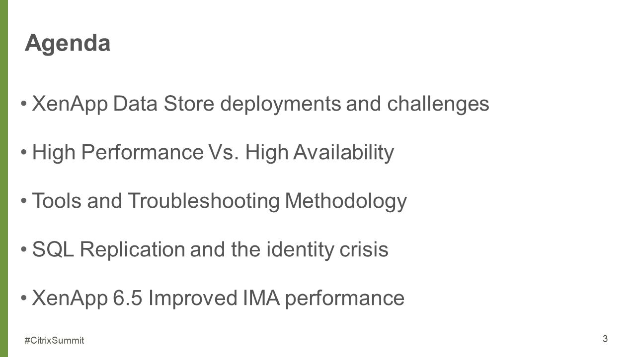 The Data Store and SQL Server Deployment Strategies and