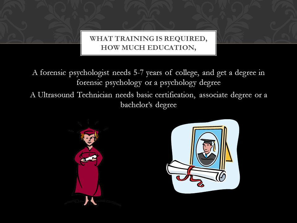 Forensic Psychologist And Ultrasound Technician January 132011 Mrs