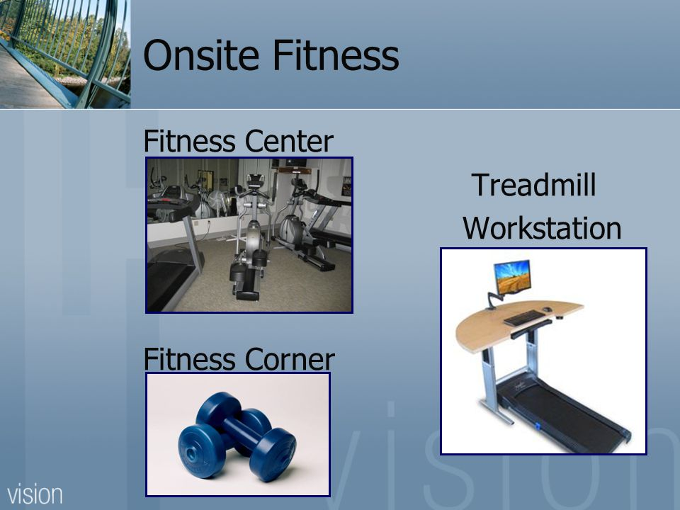 Onsite Fitness Fitness Center Treadmill Workstation Fitness Corner