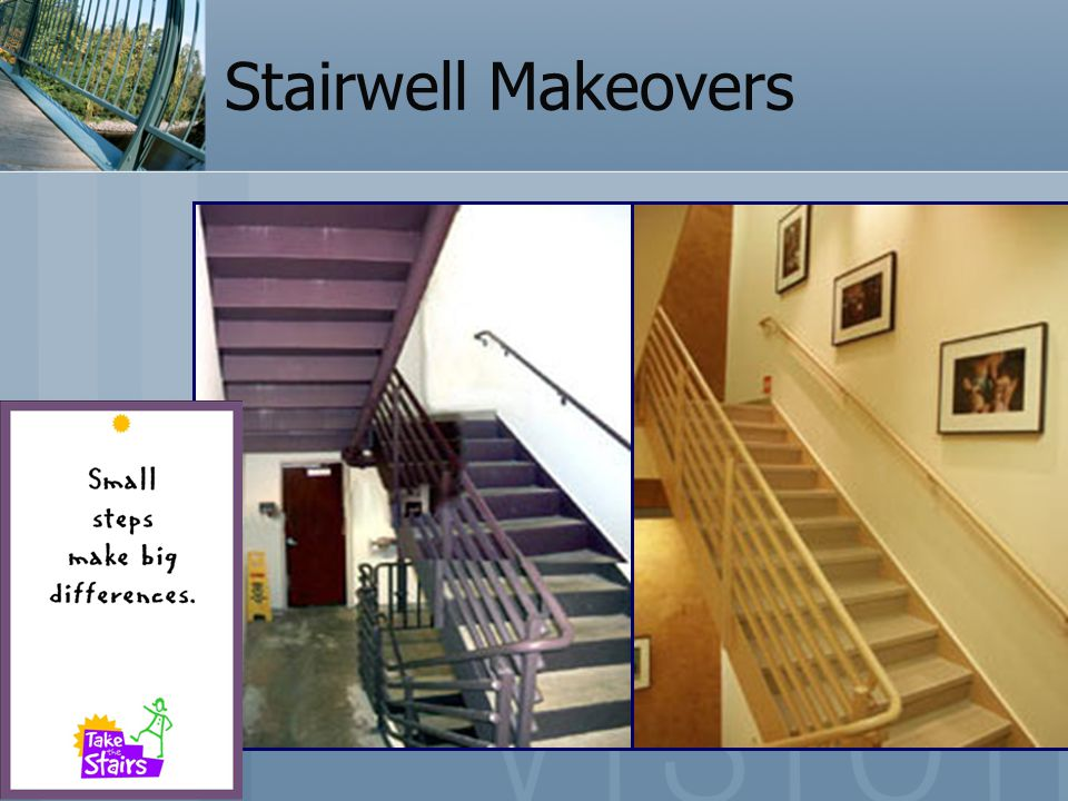 Stairwell Makeovers