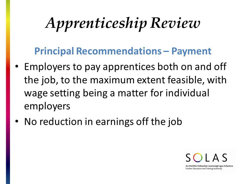 New Apprenticeships Standards Based Apprenticeship Legislative ...