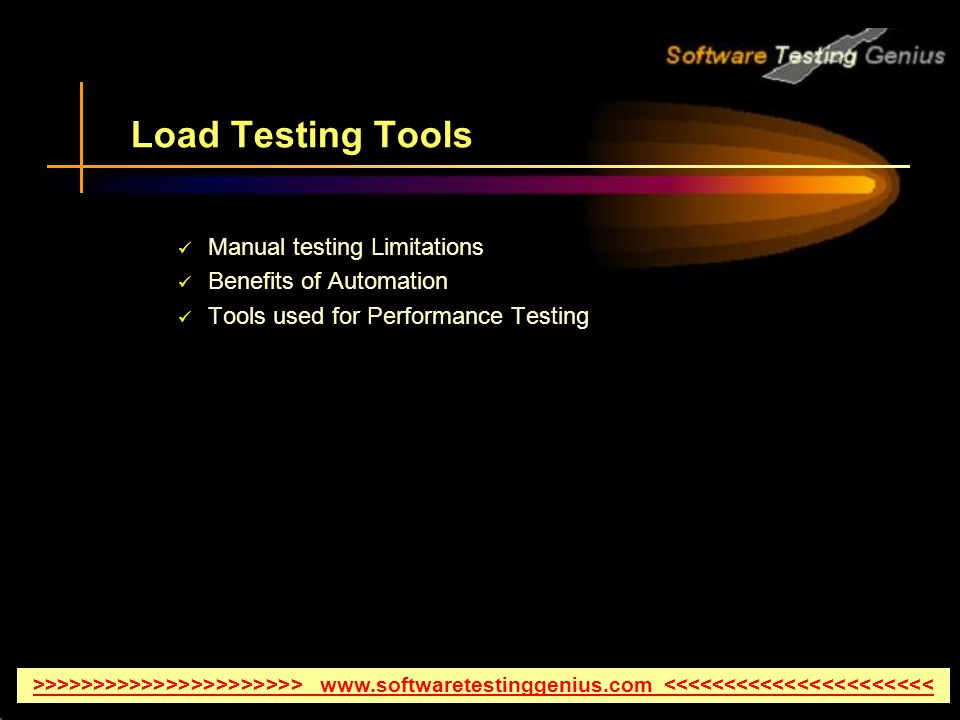 Understanding of Load Testing Tools Especially HP LoadRunner