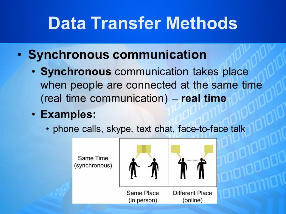 Local Asynchronous Communications  Bit-wise data