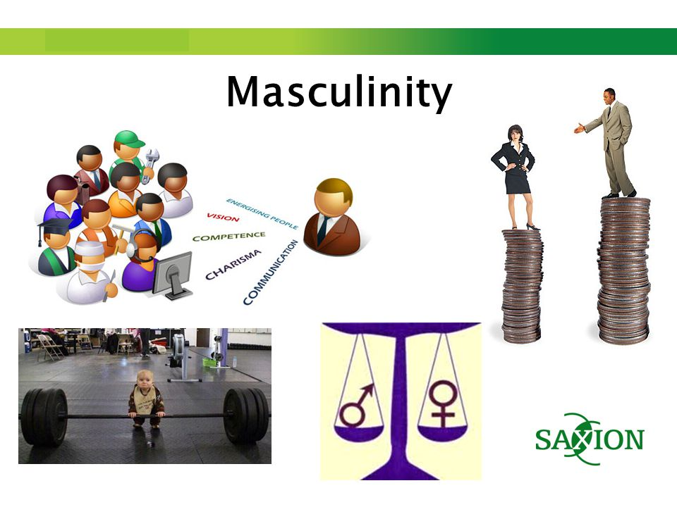 Step up to Saxion. Masculinity