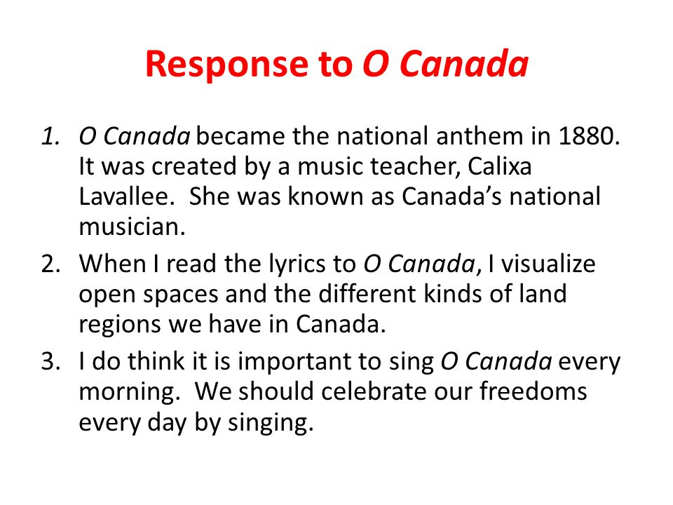 the day canada became a nation essay Canada multiculturalism essay canada or america canadian embassy canada evolved into a nation during the 18th and 19th centuries many factors were accountable to this change which includes the loyalists migration north and of course the constitutional acts of 1791 and 1867.
