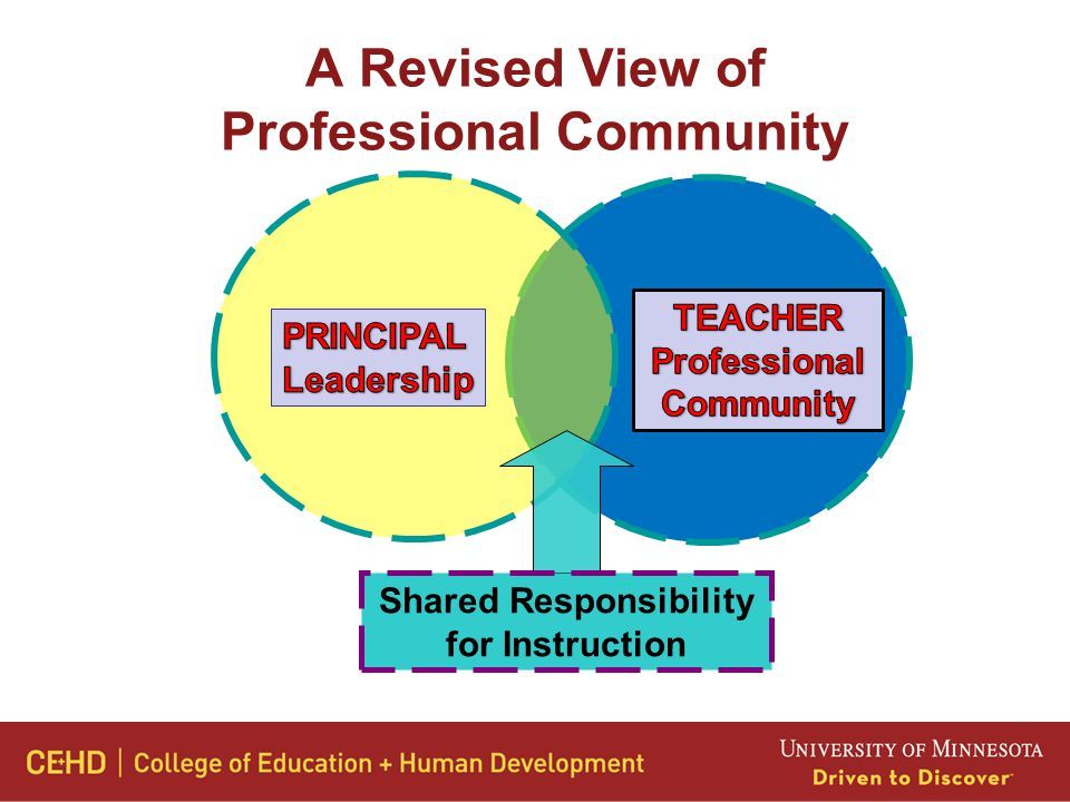 A Revised View of Professional Community Shared Responsibility for Instruction