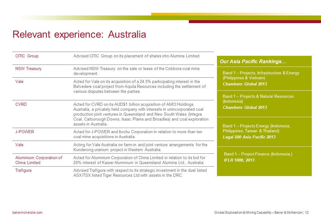 Global Exploration & Mining Capability Statement January ppt