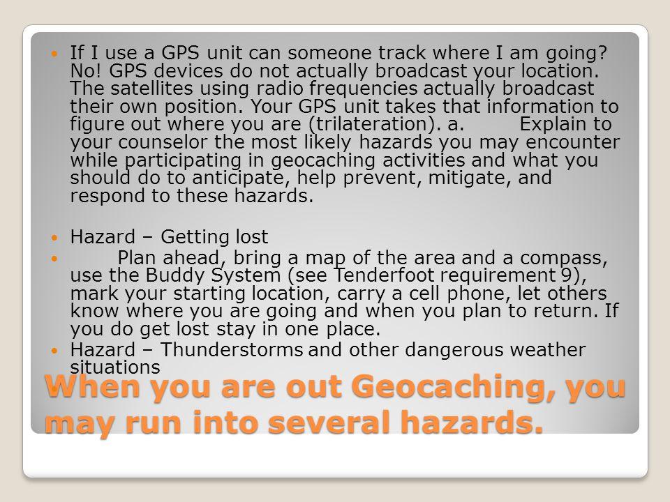 Geocaching Merit Badge Fair Georgetown College Saturday February 12