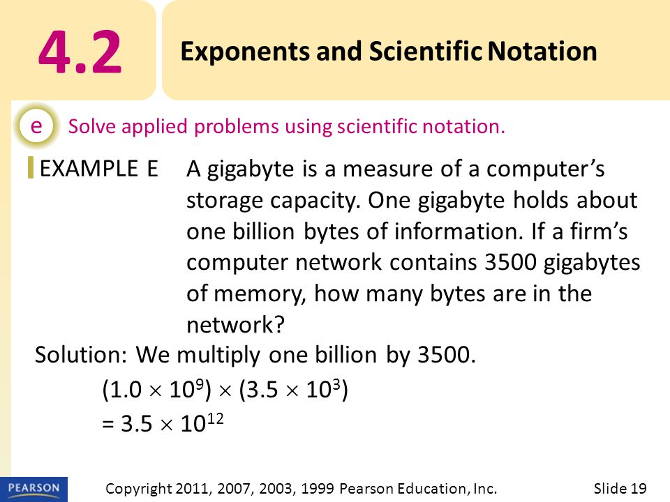 EXAMPLE Solution: We multiply one billion by 3500.