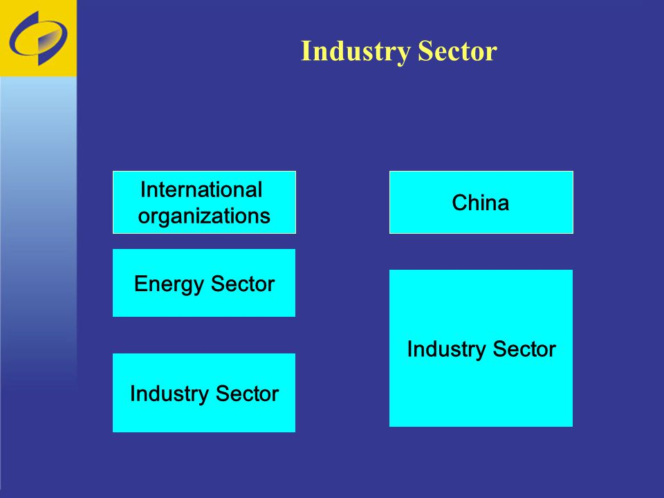 Industry Sector Energy Sector Industry Sector International organizations China Industry Sector