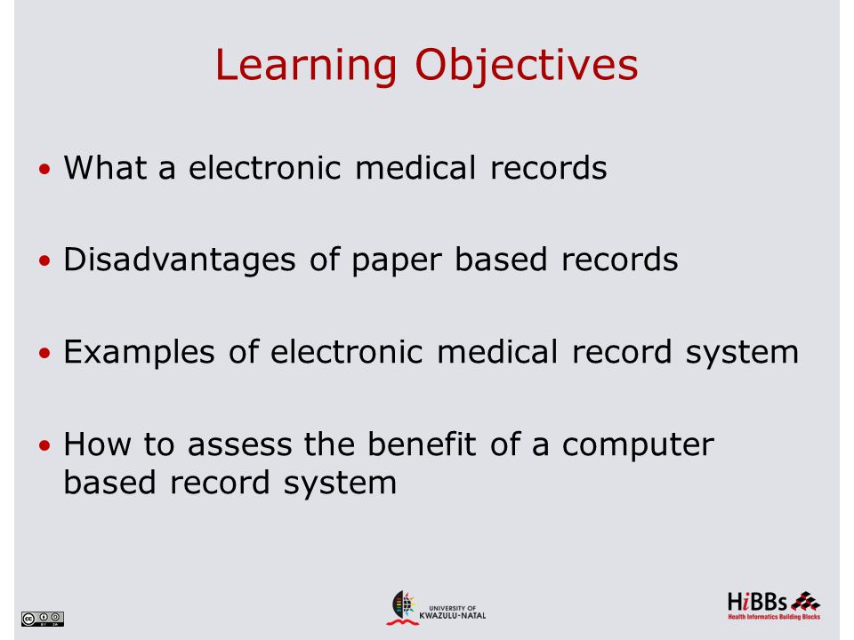 disadvantages of paper medical records