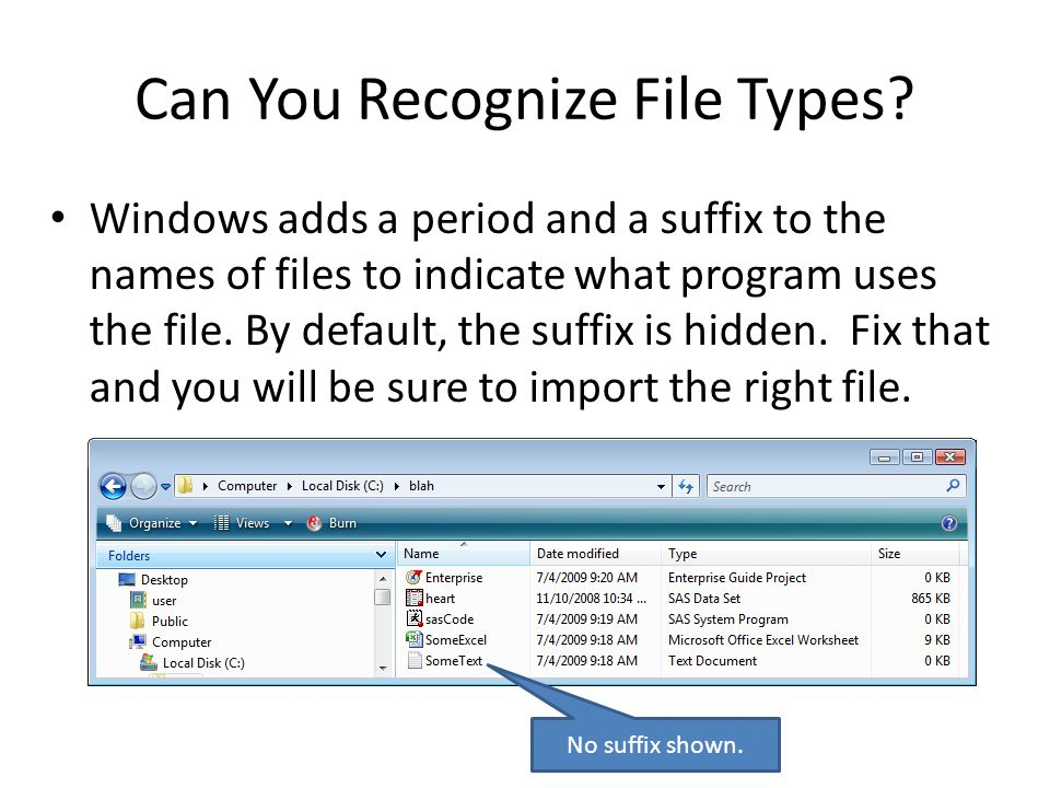 Can You Recognize File Types.