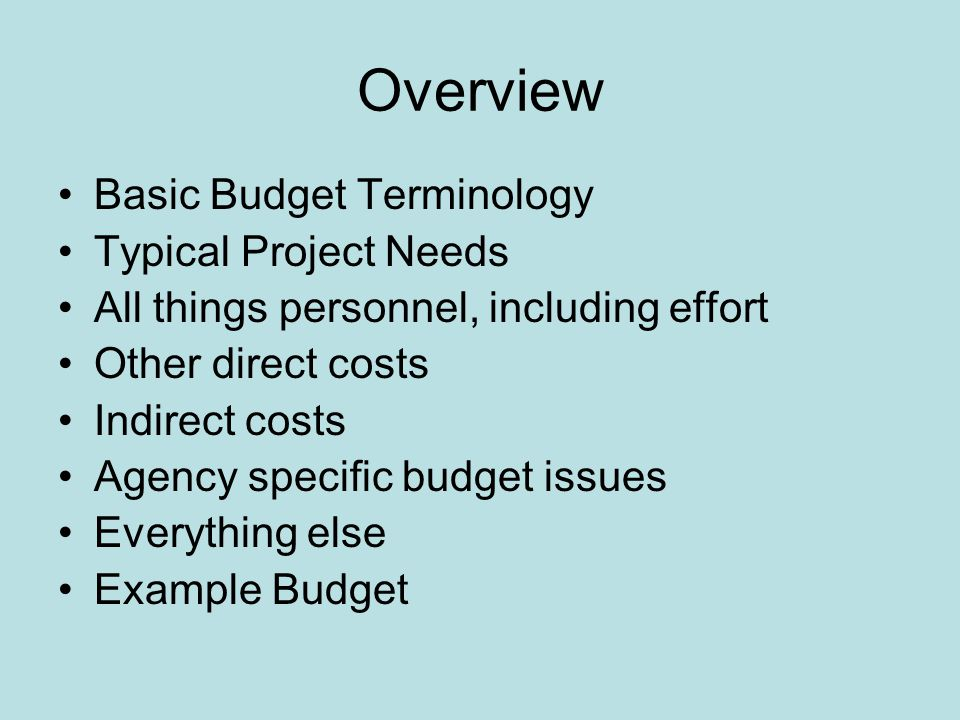 budgets grant writing in psychology alicia j