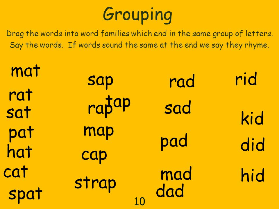 Lesson 12 Contents 1 Listening For Sounds In Word 2 Introducing