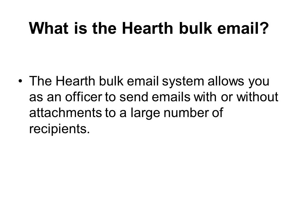 What is the Hearth bulk  .
