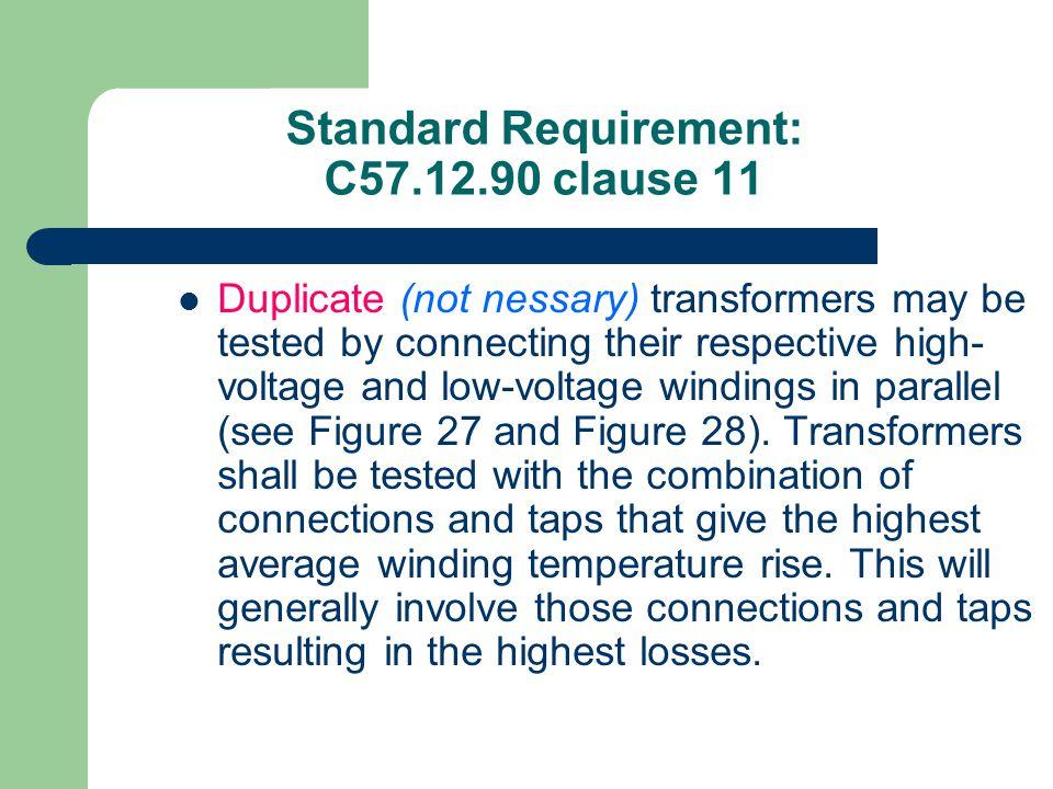Transformer heat run test: The loading back method IEEE