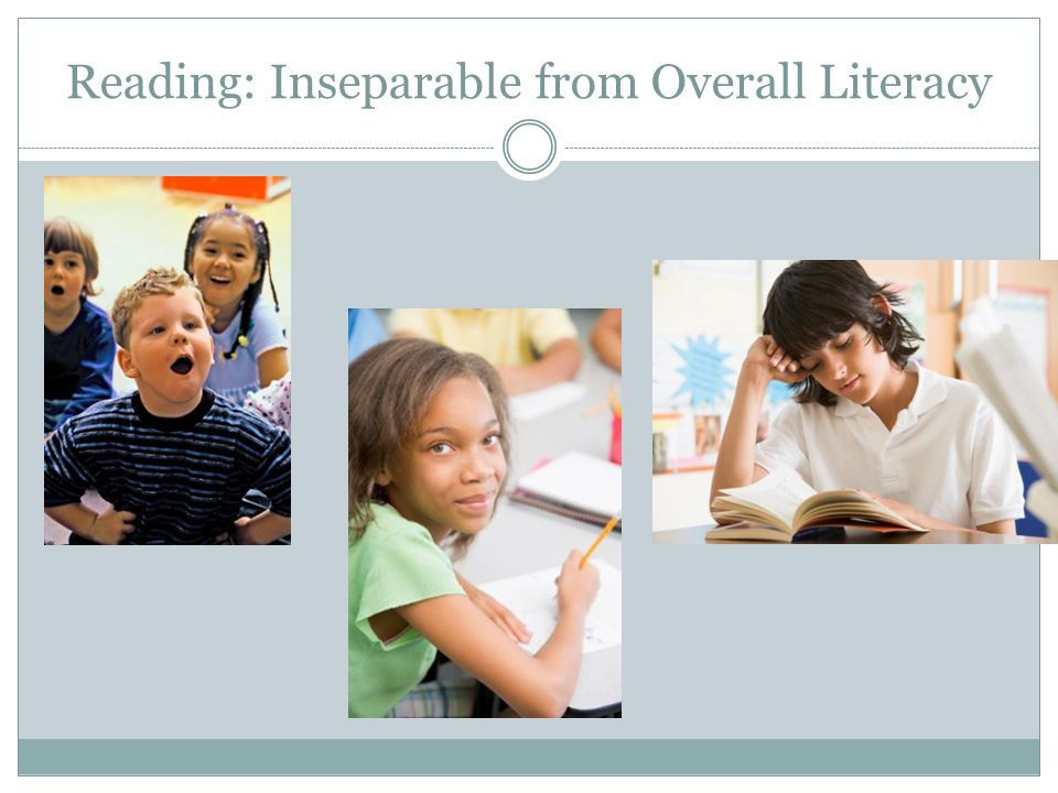 Reading: Inseparable from Overall Literacy