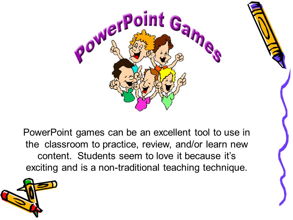 Improving Reading Vocabulary Using Powerpoint Games Presented By