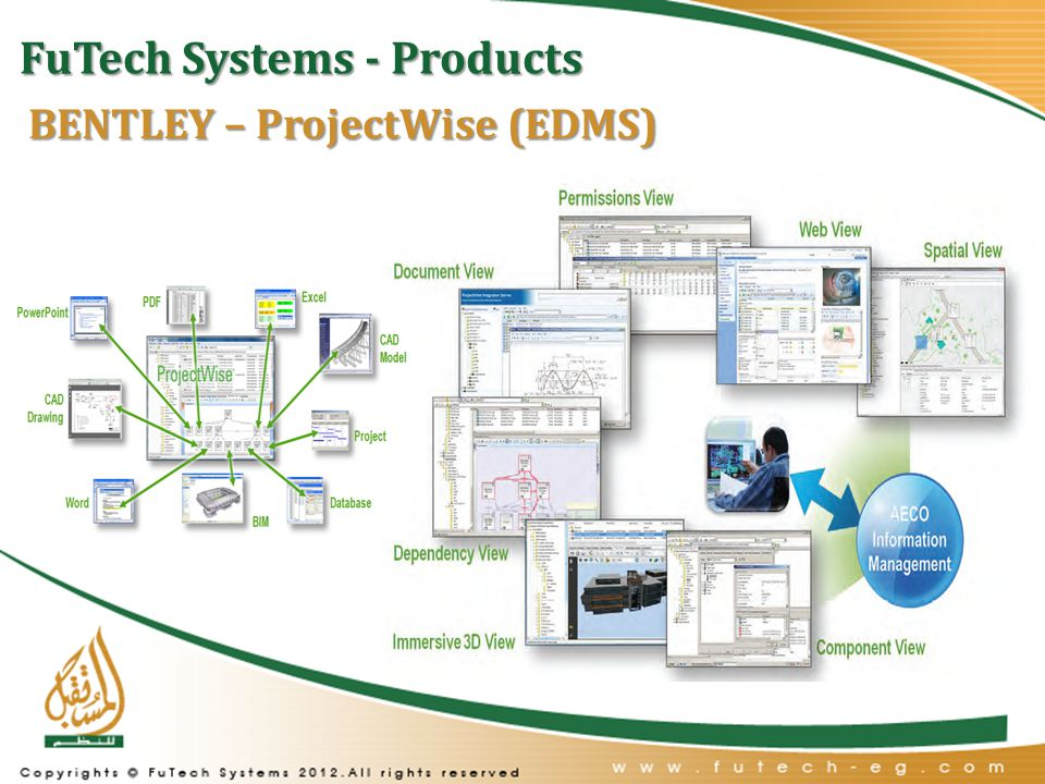 FuTech Systems - Products BENTLEY – ProjectWise (EDMS)
