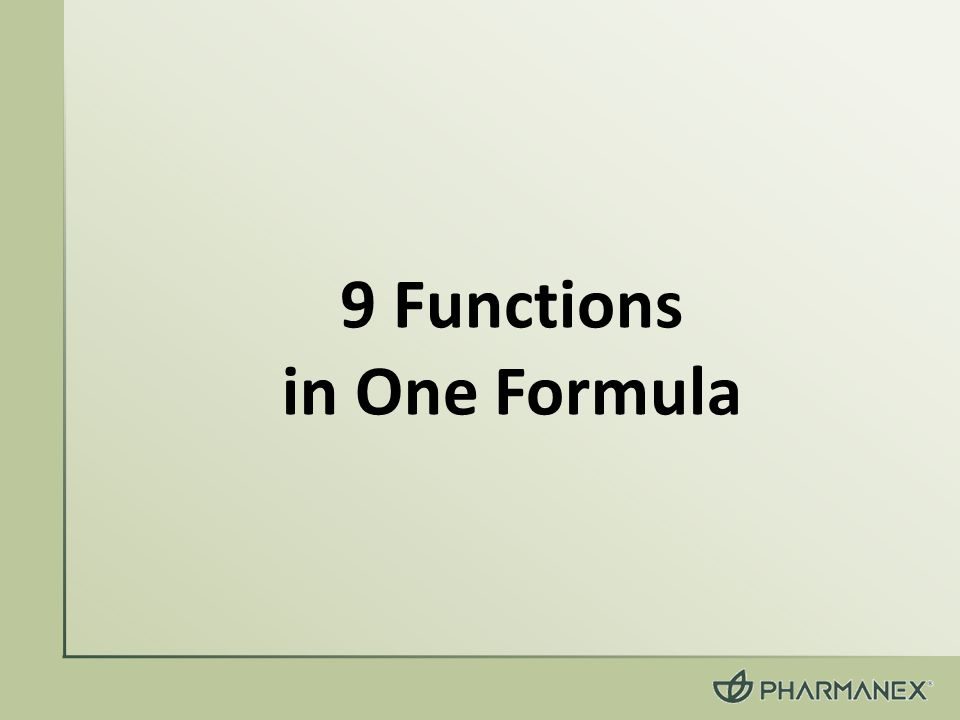 9 Functions in One Formula