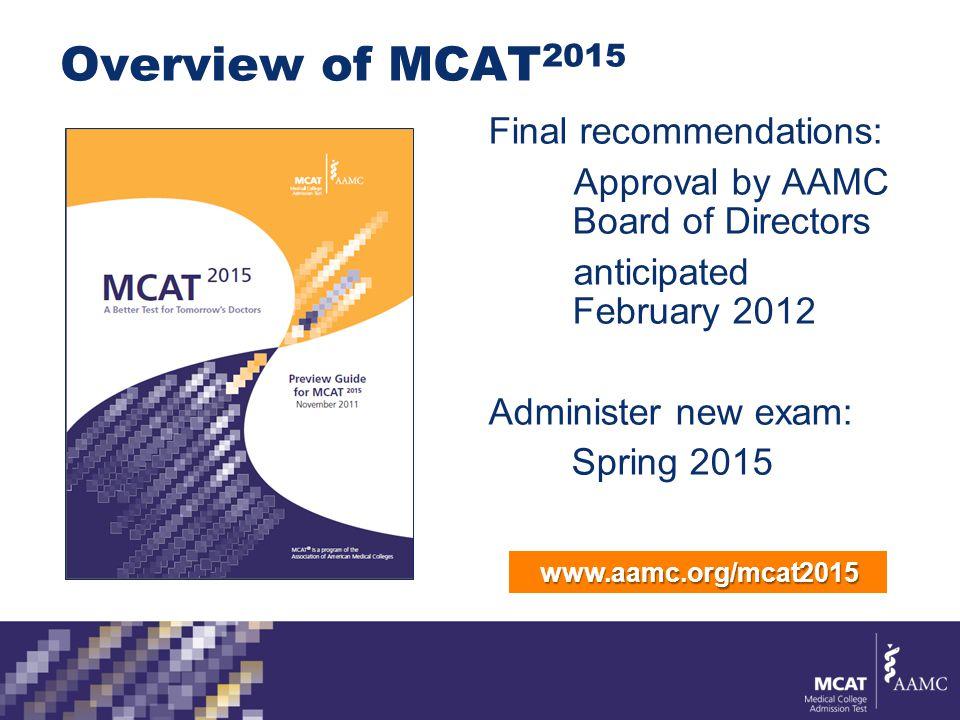 mcat is a program of the association of american medical colleges rh slideplayer com 7 Moth MCAT 2015 Study Schedule 7 Moth MCAT 2015 Study Schedule