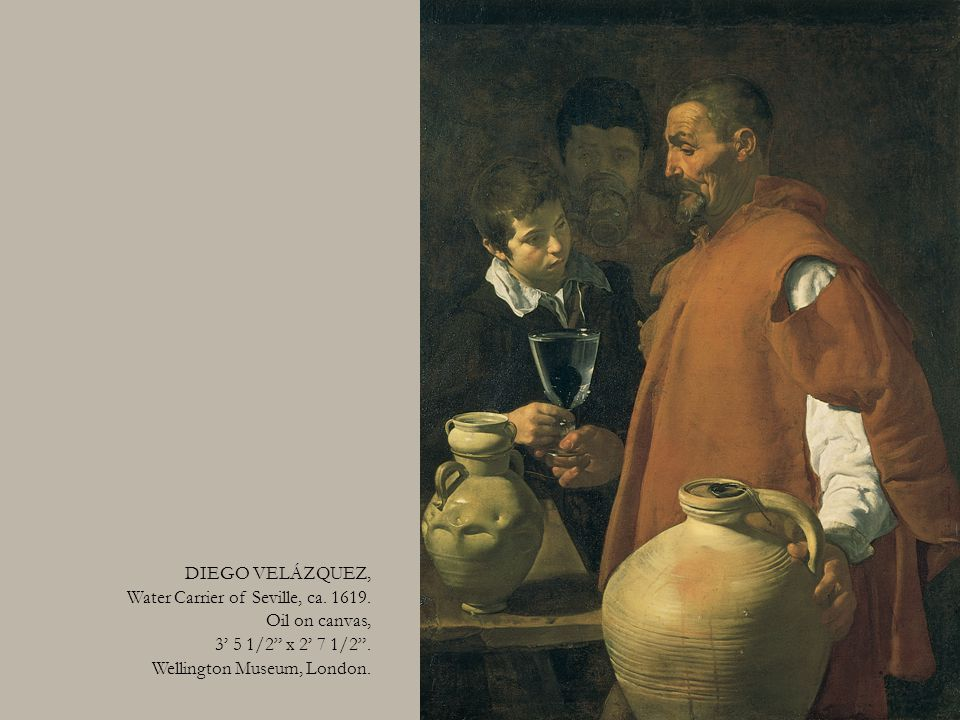 DIEGO VELÁZQUEZ, Water Carrier of Seville, ca