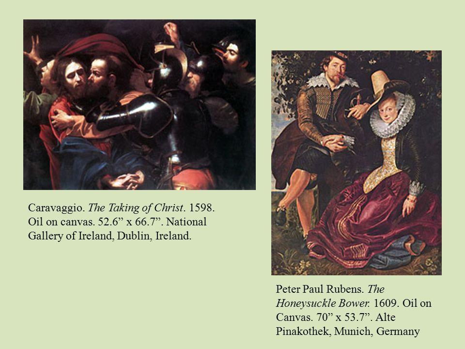 baroque art carissa drew caravaggio the taking of christ oil on