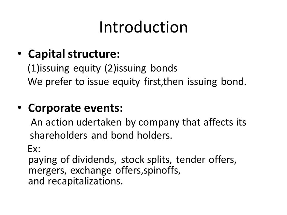 Pairs-Trading (CH9) Risk Arbitrage Mechanics  Definition of
