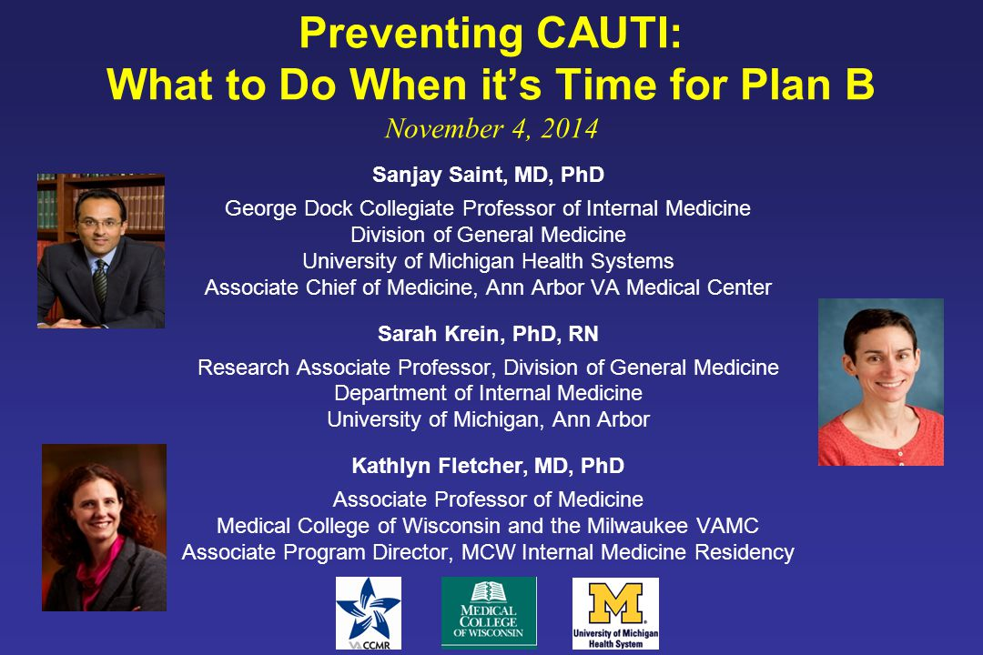 On the CUSP: Stop CAUTI National Content Webinar 1 Welcome