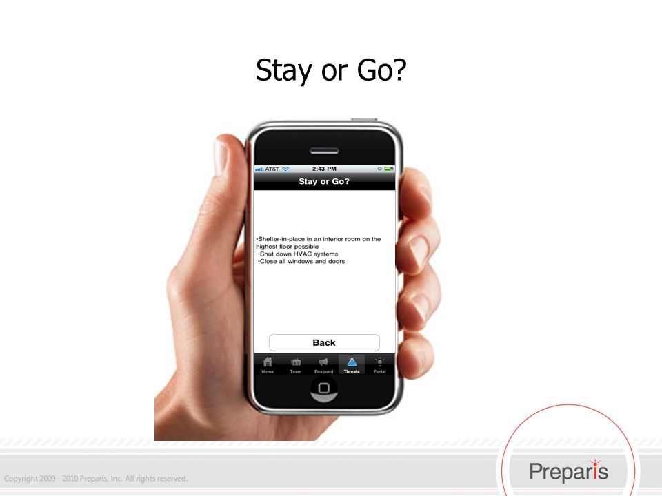 iPhone Stay or Go