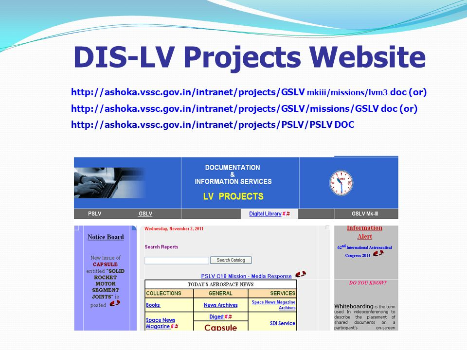 DIS-LV Projects Website   mkiii/missions/lvm3 doc (or)   doc (or)   DOC