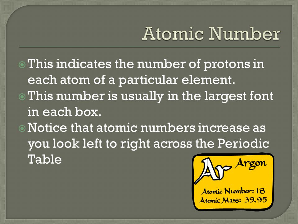 Basic structure the periodic table has 7 rows called periods this indicates the number of protons in each atom of a particular element urtaz Images