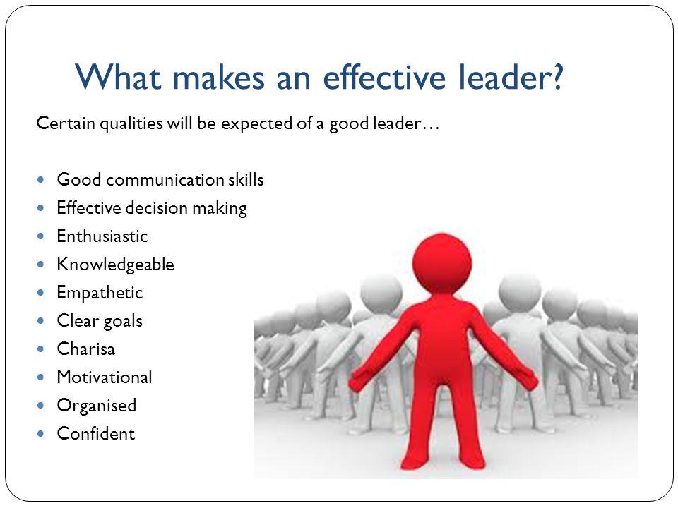 effective leadership ppt