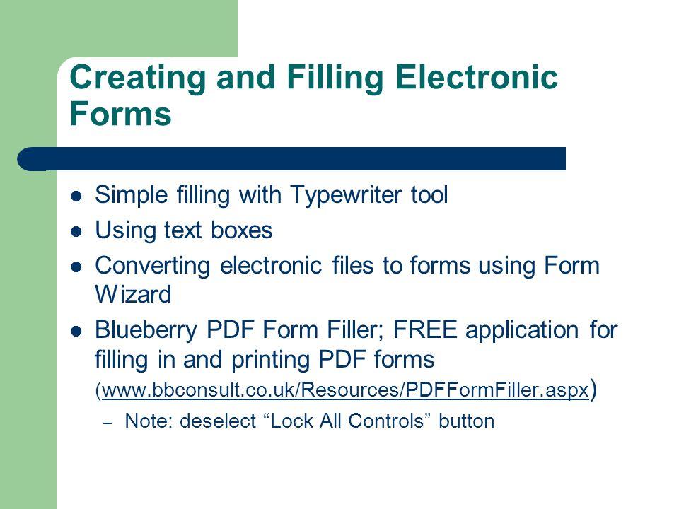 Typewriter Tool For Pdf