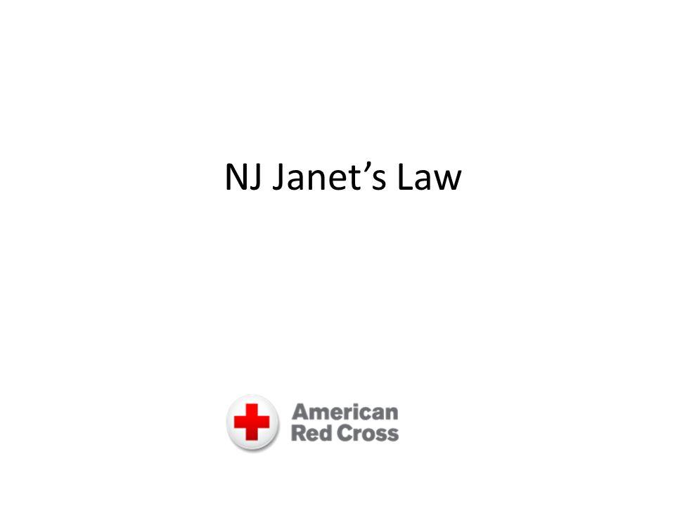 Nj Janets Law Janets Law Janets Law Was Inspired By A Tragedy In