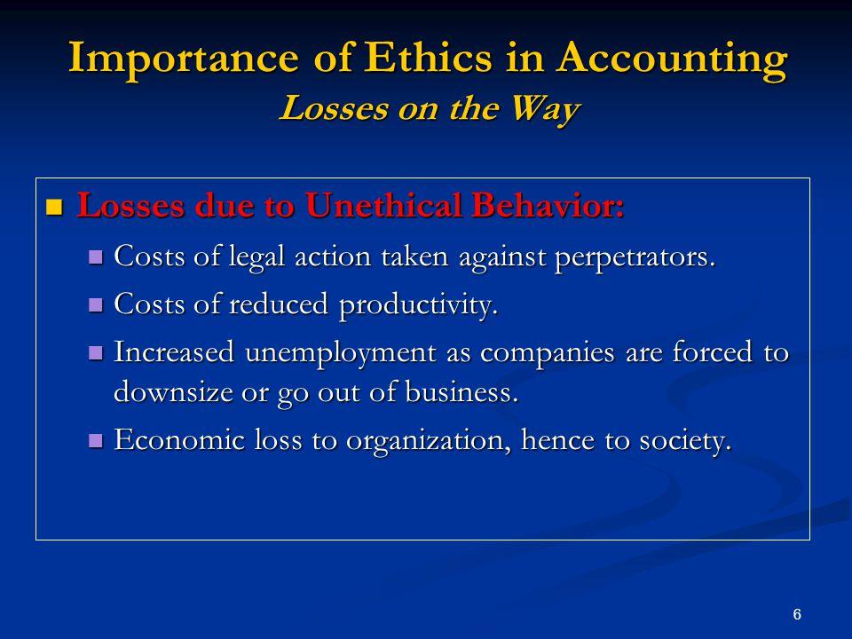 accounting ethics violations