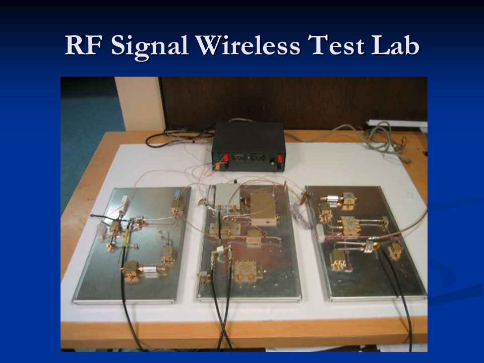 Rf signal wireless test lab weekly report 1 objective familiarize 6 rf ccuart Gallery
