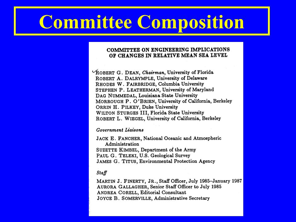 Committee Composition