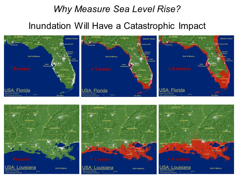Why Measure Sea Level Rise Inundation Will Have a Catastrophic Impact
