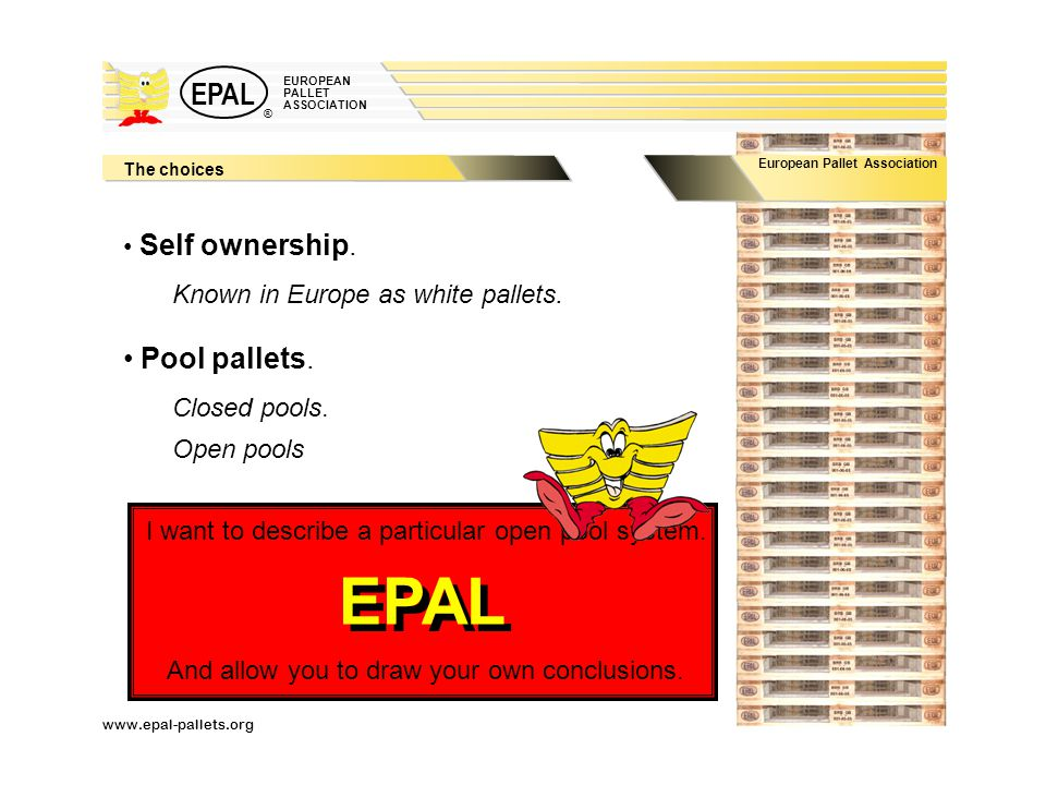 Euro Pallet Largest Pool In The World Control By Wood