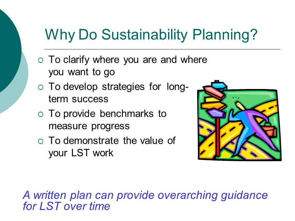 Why Do Sustainability Planning.