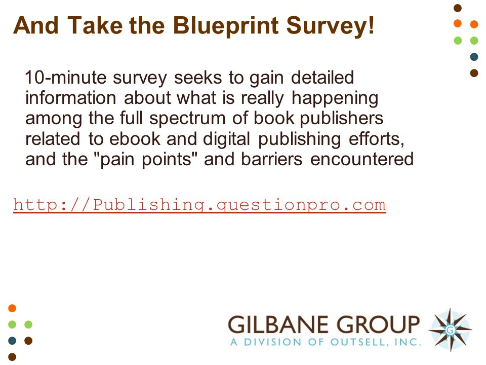 A blueprint for book publishing transformation content management and take the blueprint survey malvernweather Choice Image
