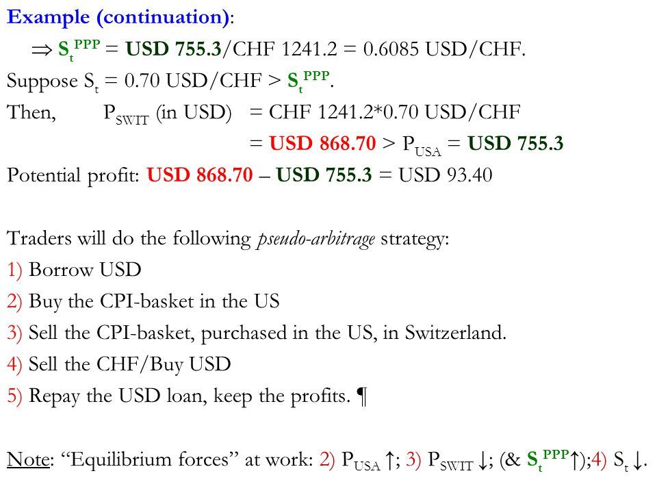 Example Continuation S T Ppp Usd 755 3 Chf