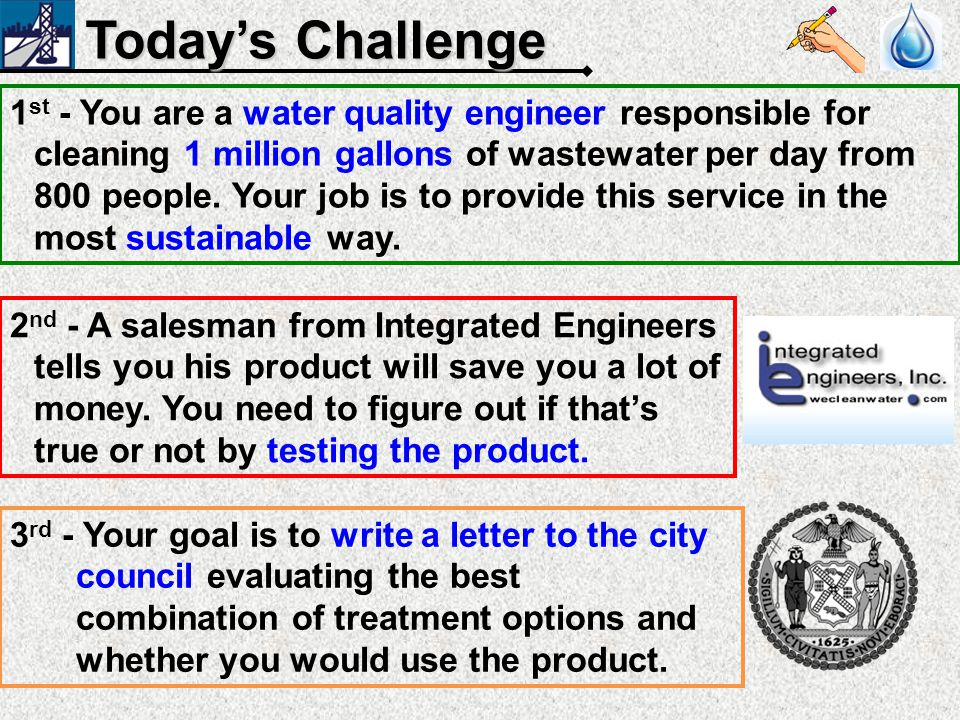 What is wastewater 1 billion gallons per day! (that's 1000 swimming pools)