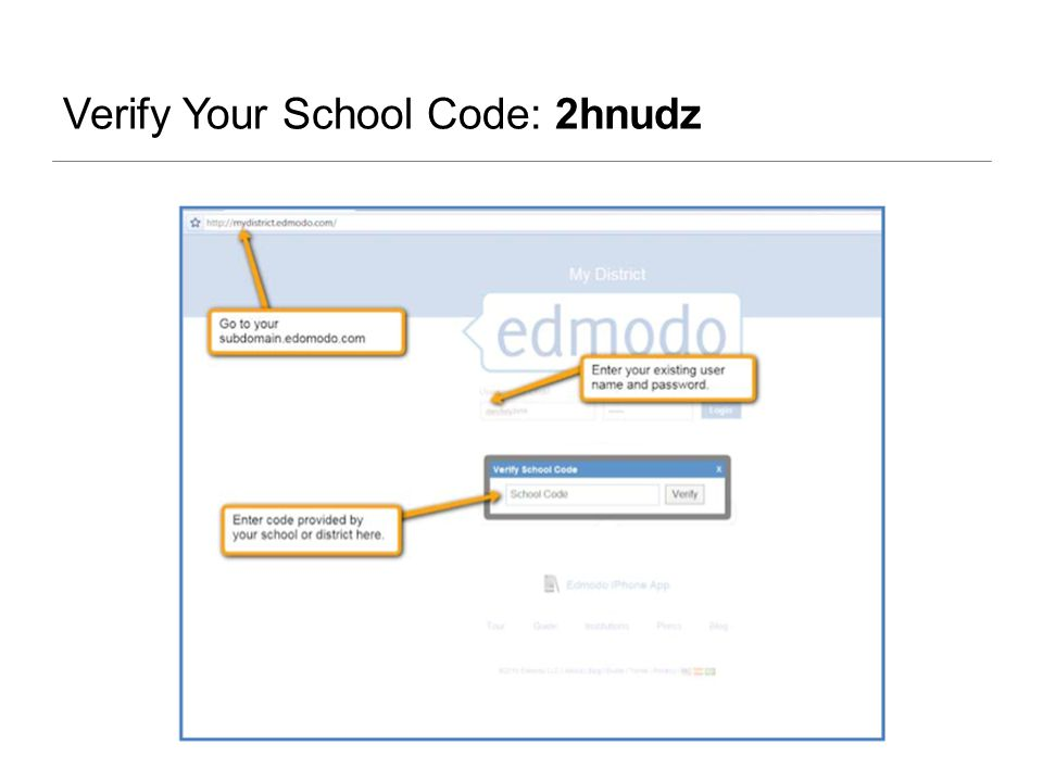Verify Your School Code: 2hnudz