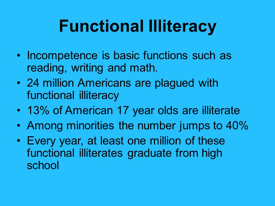 Image result for illiterate high school graduates